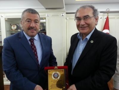 ASDER Başkanı ve Üyeleri Darbe Girişimi Sonrasında İstanbul Emniyet Müdürünü Ziyaret Etti.