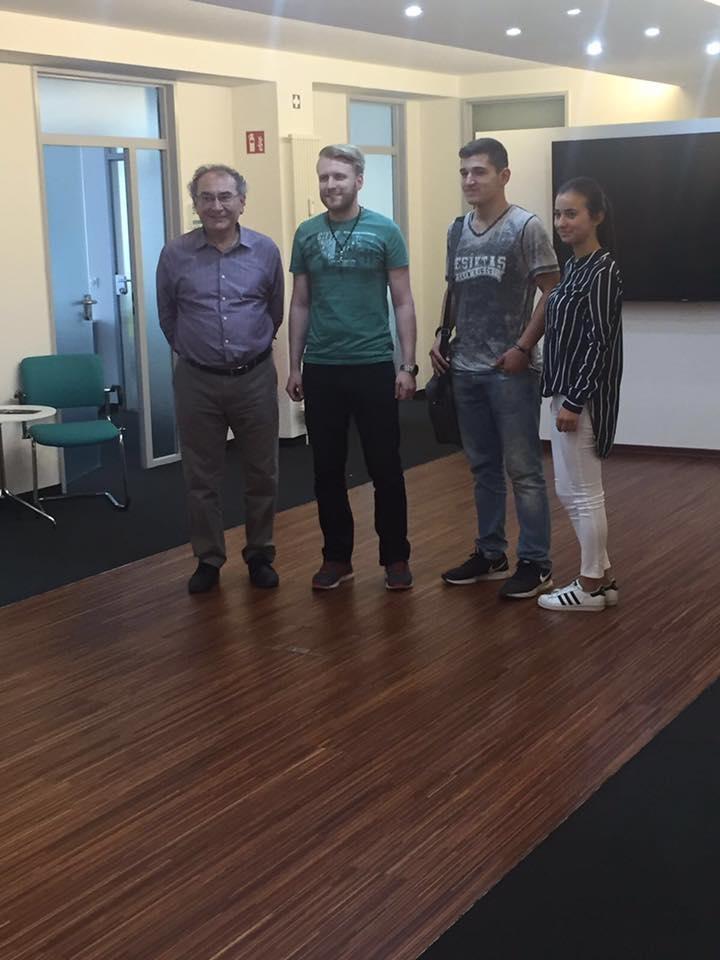Prof. Dr. Nevzat Tarhan Üsküdar Üniversitesi Köln merkezini ziyaret etti