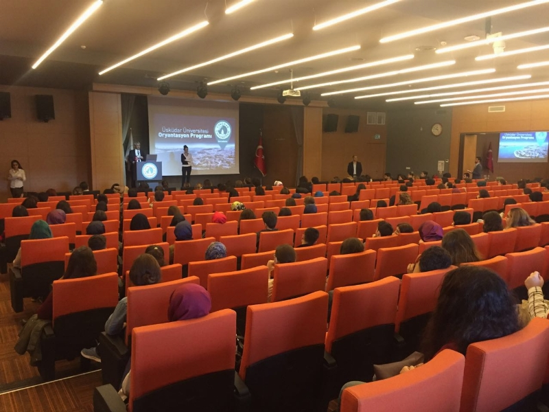 Üsküdar Üniversitesi yeni yıl oryantasyon programları hazırlık öğrencileriyle başladı.