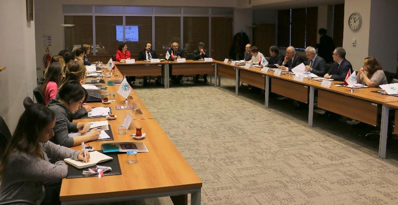 Avrupa Staj Konsorsiyumu 3. Üst yönetim Toplantısını Üsküdar'da yaptı.