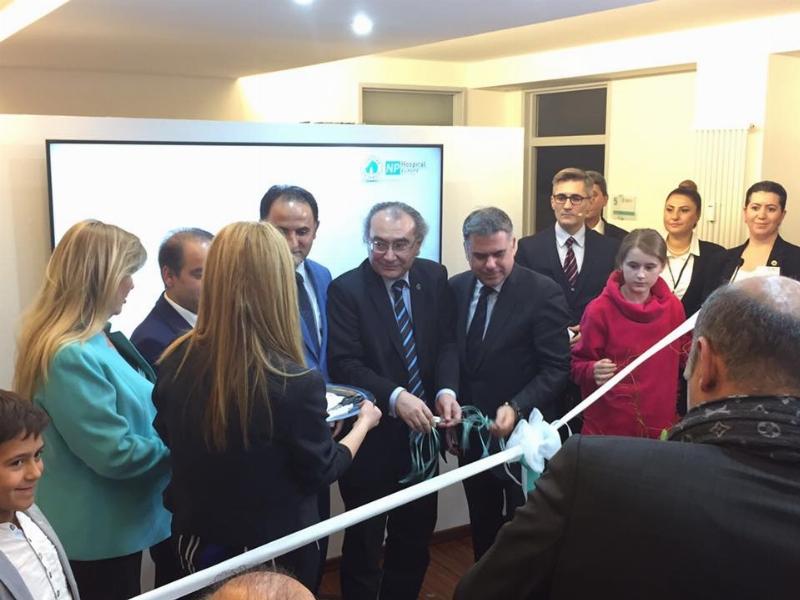 Üsküdar University NPHOSPITAL Europe açıldı.