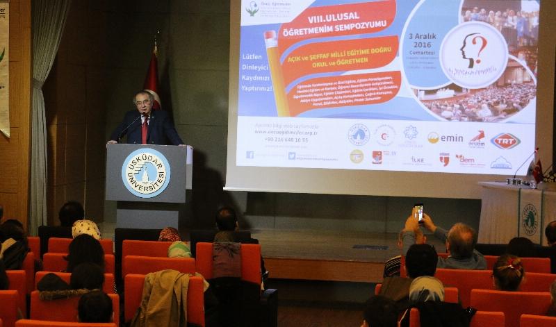 """Prof. Dr. Nevzat Tarhan:  """"İyi insan yetiştirmenin bilimsel metodolojisi belirlenmeli"""""""