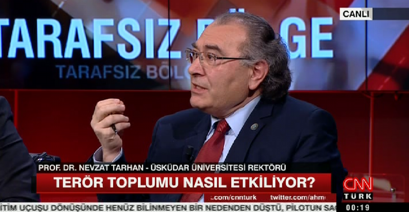 """Prof. Dr. Nevzat Tarhan: """"Kötü Dünya Sendromu amaçlanıyor"""""""