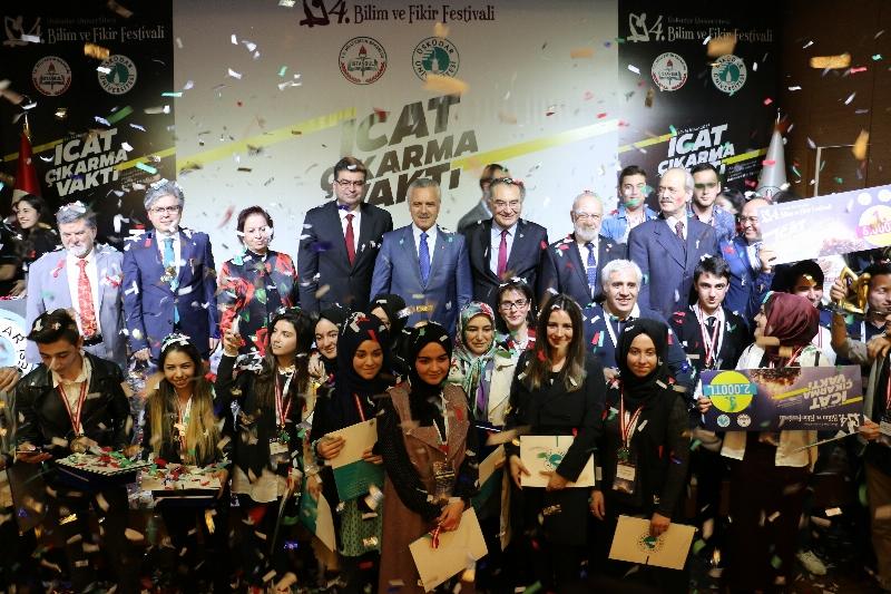 4. Bilim ve Fikir Festivalinde ödüller sahiplerini buldu!