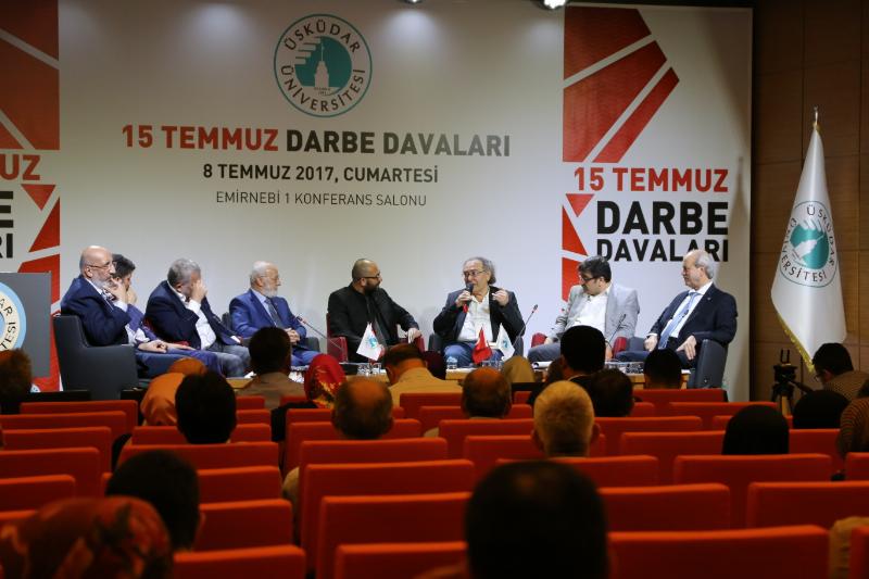 15 Temmuz Darbe Davaları Paneli Üsküdar Üniversitesinde yapıldı.