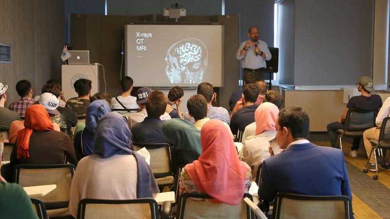 Üsküdar Üniversitesine yabancı öğrencilerden büyük ilgi