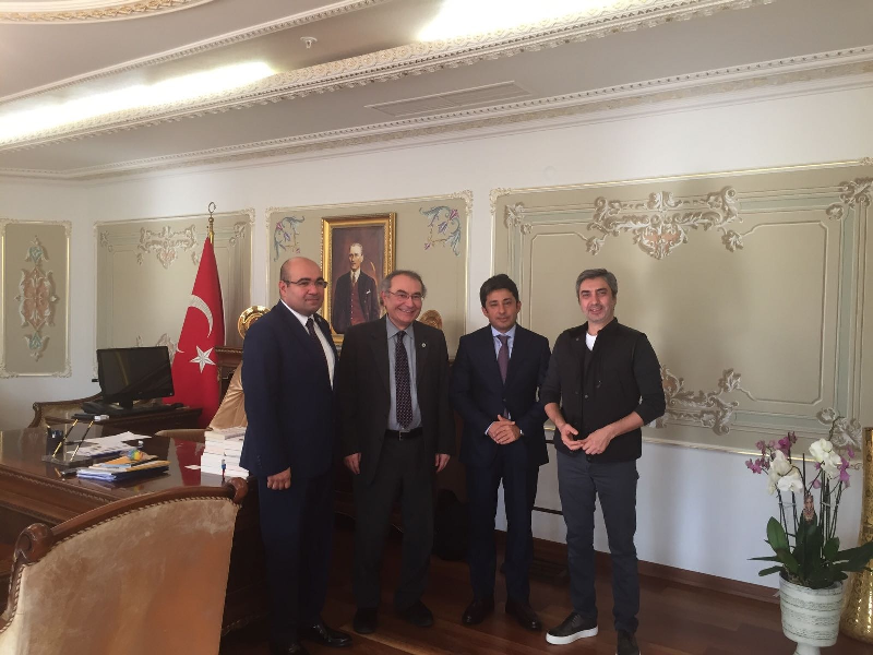 Prof. Dr. Nevzat Tarhan Üsküdar Kaymakamı'nı ziyaret etti