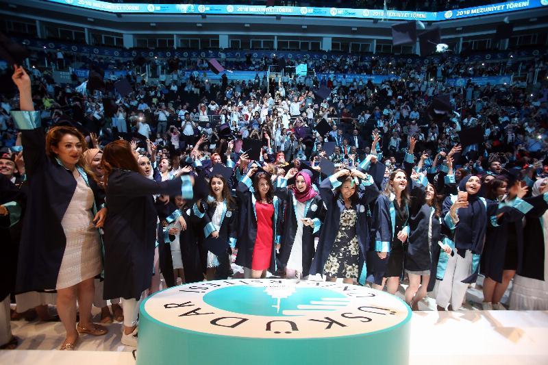 Üsküdar Üniversitesi'nde 5. Mezuniyet coşkusu 9