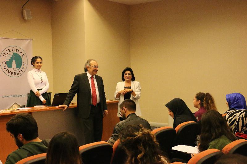 """Prof. Dr. Nevzat Tarhan: """"Sizler akıncılar gibisiniz"""""""