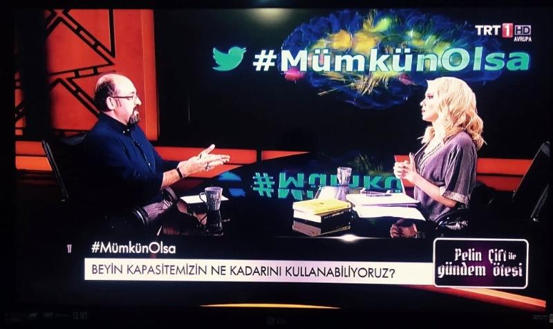 Prof. Dr. Sinan Canan TRT1'de Beyni anlattı…