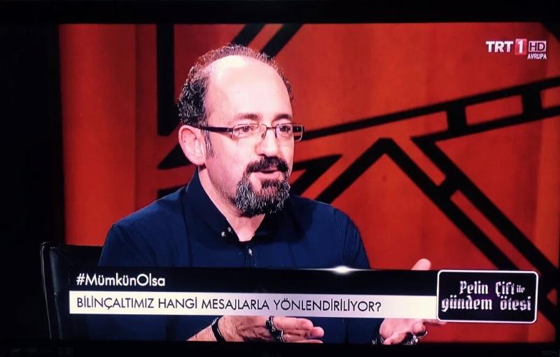 Prof. Dr. Sinan Canan TRT1'de Beyni anlattı… 2