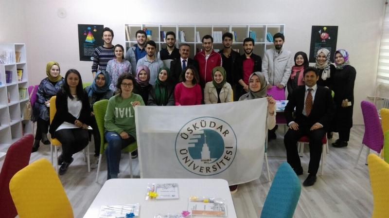 Üsküdar Üniversitesi öğrencilerinden örnek çalışma... 2
