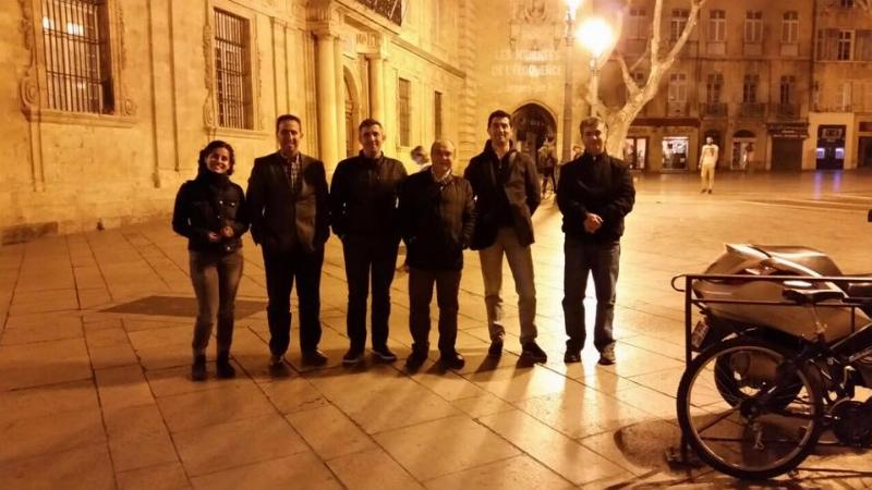 Üsküdar Üniversitesi Katran Projesi tanıtım toplantısını Fransa Marsilya Üniversitesi'nde yaptı. 2