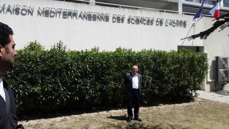 Üsküdar Üniversitesi Katran Projesi tanıtım toplantısını Fransa Marsilya Üniversitesi'nde yaptı.