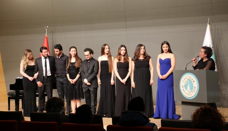 Üsküdar Üniversitesi'nde şan sınıfı konseri 2