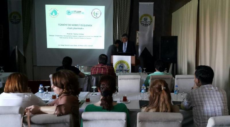 """Prof. Dr. Tayfun Uzbay'dan """"Nobel'i Düşlemek, İcat Çıkarmak"""" Konferansları 3"""