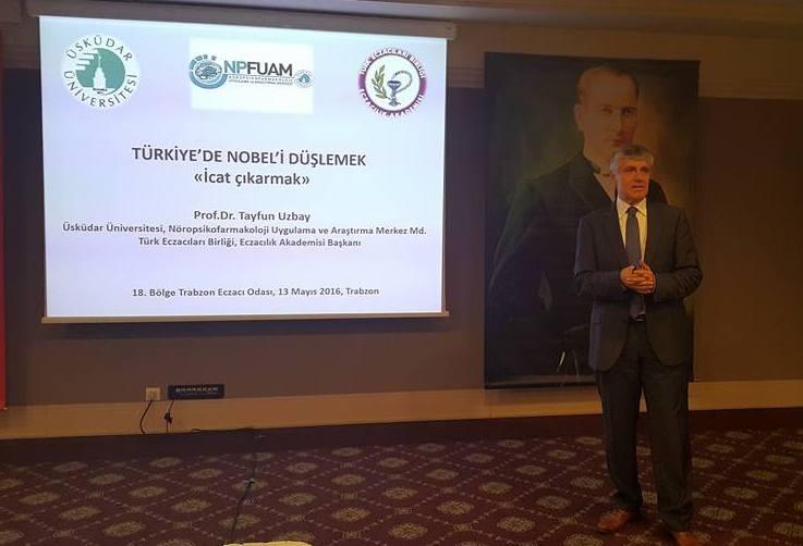 """Prof. Dr. Tayfun Uzbay'dan """"Nobel'i Düşlemek, İcat Çıkarmak"""" Konferansları 2"""