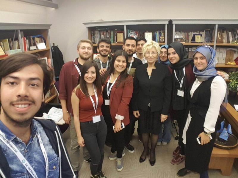 Türkiye Psikoloji Öğrencileri Çalışma Grubu 1 gününü Üsküdar Üniversitesi'nde geçirdi.