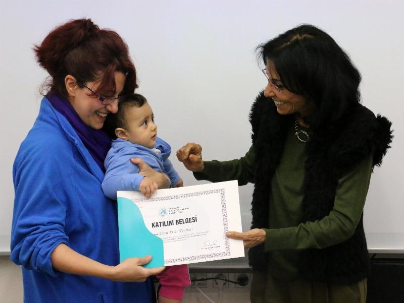 Tasavvufî Eser Okumaları Eğitim Programını başarıyla tamamladılar... 2