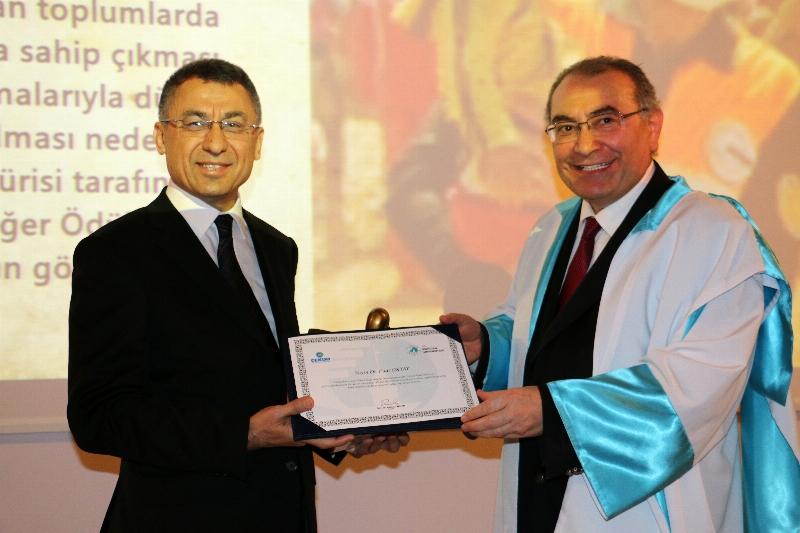 """AFAD'a """"Yüksek İnsani Değerler Ödülü"""""""