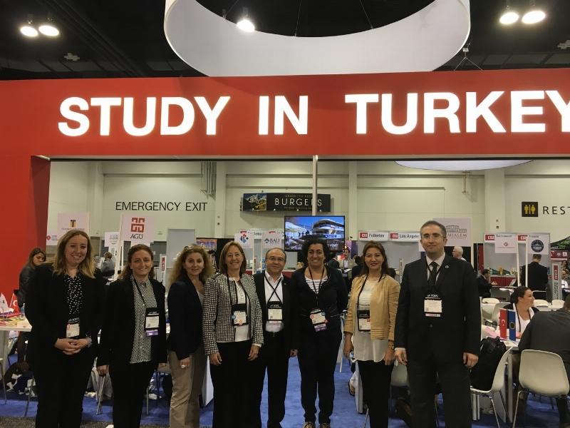 Üsküdar Üniversitesi NAFSA'da Dünya Üniversiteleriyle tecrübelerini paylaşıyor…