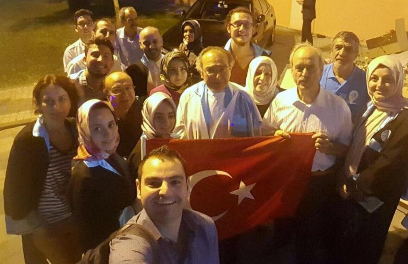 Üsküdarlı akademisyenler de Vatan Caddesi'nde yürüdü!