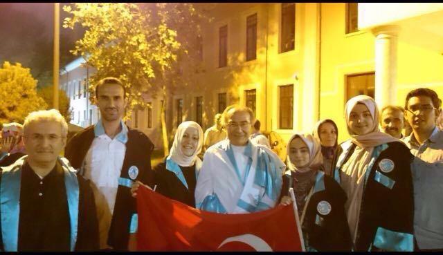 Üsküdarlı akademisyenler de Vatan Caddesi'nde yürüdü! 3