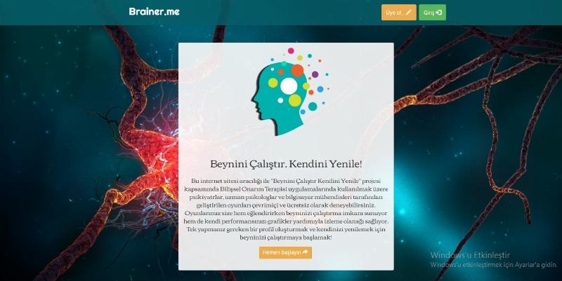 Türkiye'nin ilk bilişsel onarım projesi artık online ve ücretsiz!