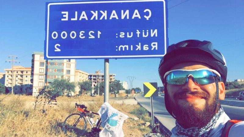 Bisiklete teşvik için bin 200 km pedal çevirdi... 3