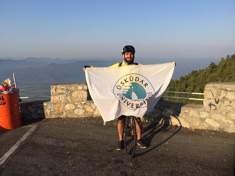 Bisiklete teşvik için bin 200 km pedal çevirdi...