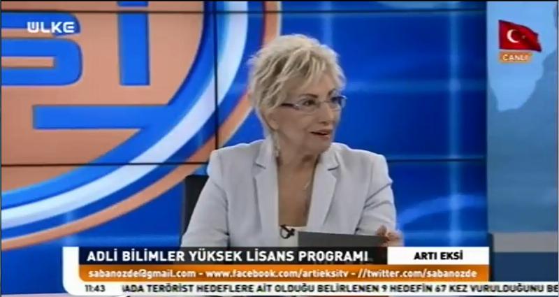 Türkiye'nin adli bilimlerde iyi yetişmiş gazetecilere ihtiyacı var!
