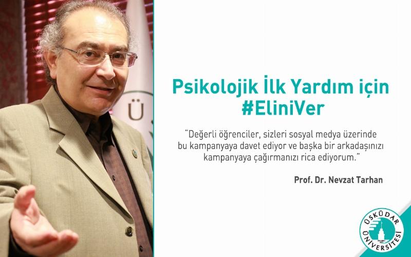 """Psikolojik İlk Yardım"""" için #EliniVer!"""