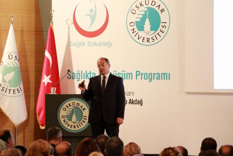 Üsküdar Üniversitesi'nde Akademik Yılın ilk dersi Sağlık Bakanı Recep Akdağ'dan... 5