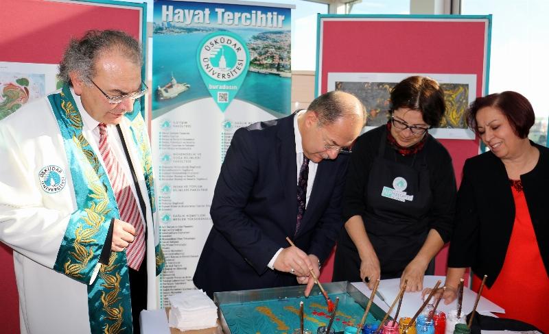Üsküdar Üniversitesi'nde Akademik Yılın ilk dersi Sağlık Bakanı Recep Akdağ'dan... 7
