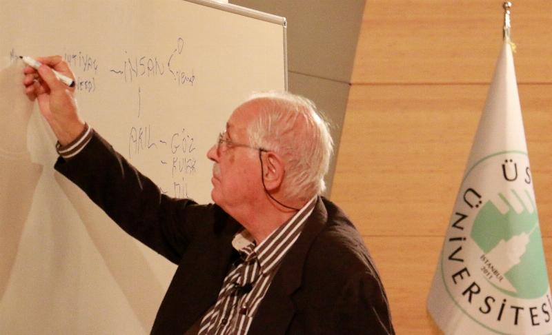 Prof. Dr. Erol Üçer psikoloji öğrencileriyle buluştu. 2