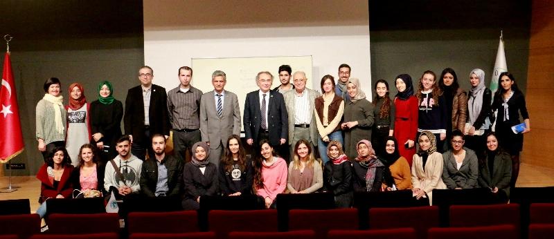 Prof. Dr. Erol Üçer psikoloji öğrencileriyle buluştu. 3