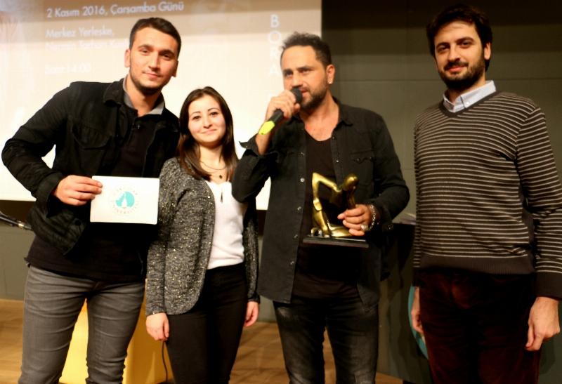 Sevilen Sanatçı Bora Duran Üsküdar Üniversitesi'ndeydi… 3