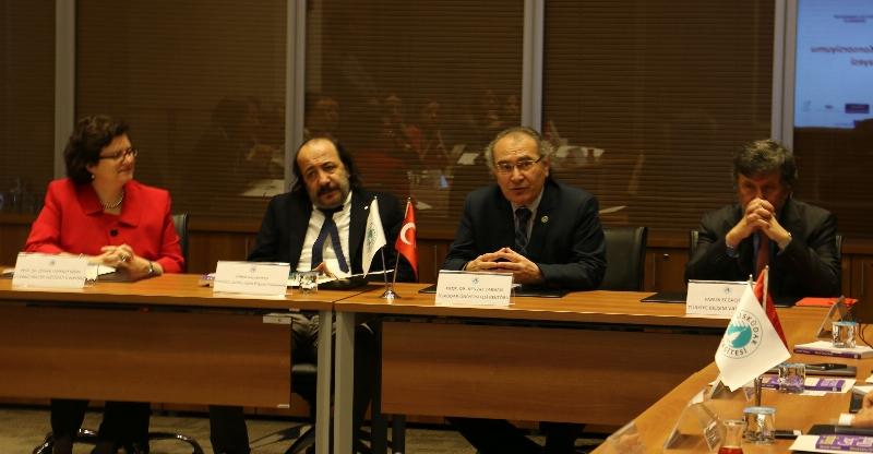 Avrupa Staj Konsorsiyumu 3. Üst yönetim Toplantısını Üsküdar'da yaptı. 2
