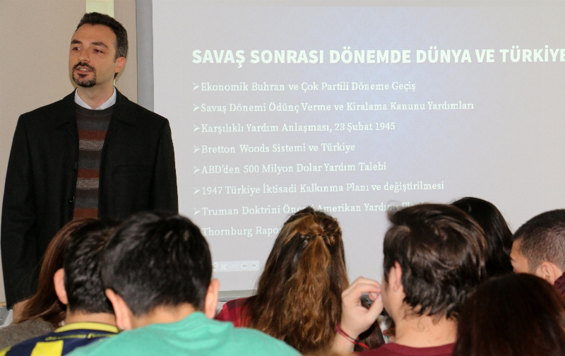 """Gökçay: """"Türkiye'nin ağır sanayi yoluyla kalkınması istenmemişti"""" 2"""