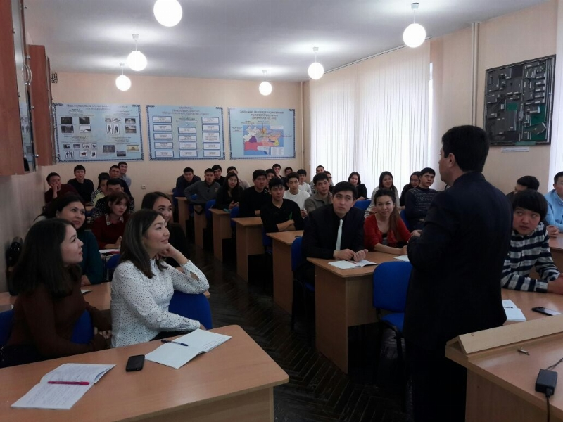 Amanzholoy Doğu Kazakistan Devlet Üniversitesi ile işbirliği… 2