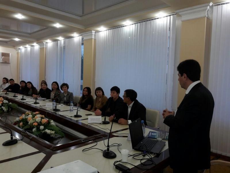 Amanzholoy Doğu Kazakistan Devlet Üniversitesi ile işbirliği…