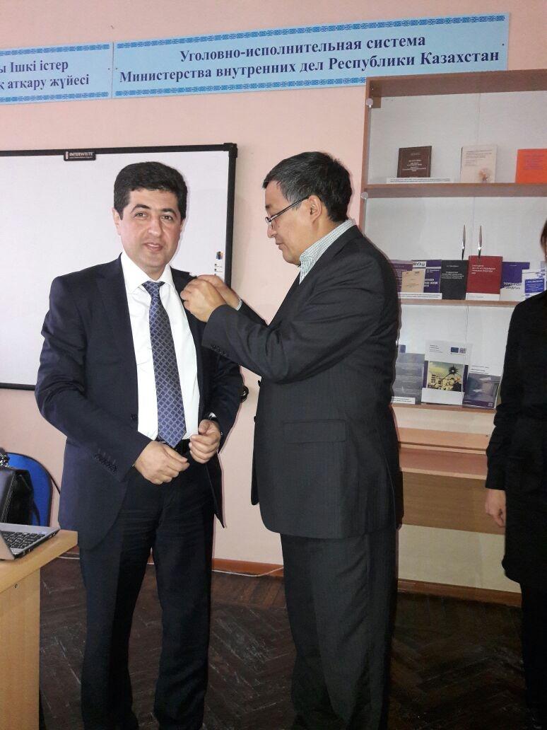 Amanzholoy Doğu Kazakistan Devlet Üniversitesi ile işbirliği… 4