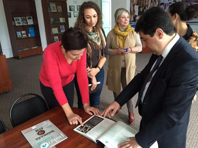 Amanzholoy Doğu Kazakistan Devlet Üniversitesi ile işbirliği… 3