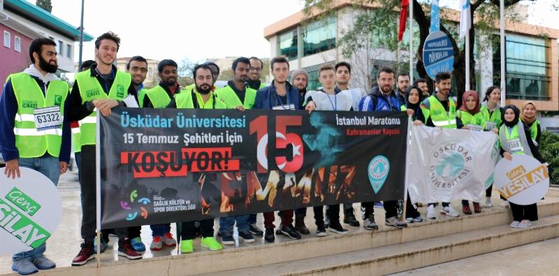 Üsküdar Üniversitesi 15 Temmuz Şehitleri İçin Koştu… 3