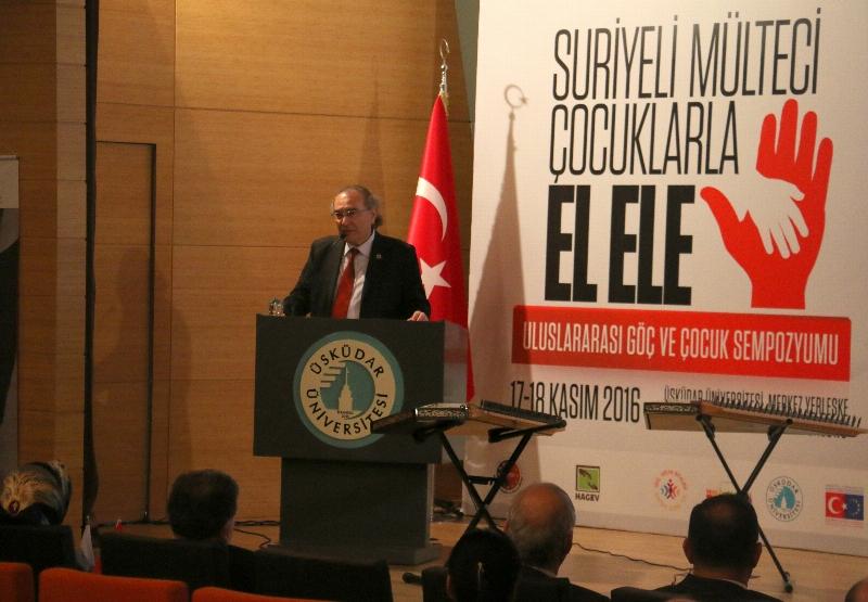 """Prof.Dr. Nevzat Tarhan: """"Göç, sosyal bir tsunamidir"""""""