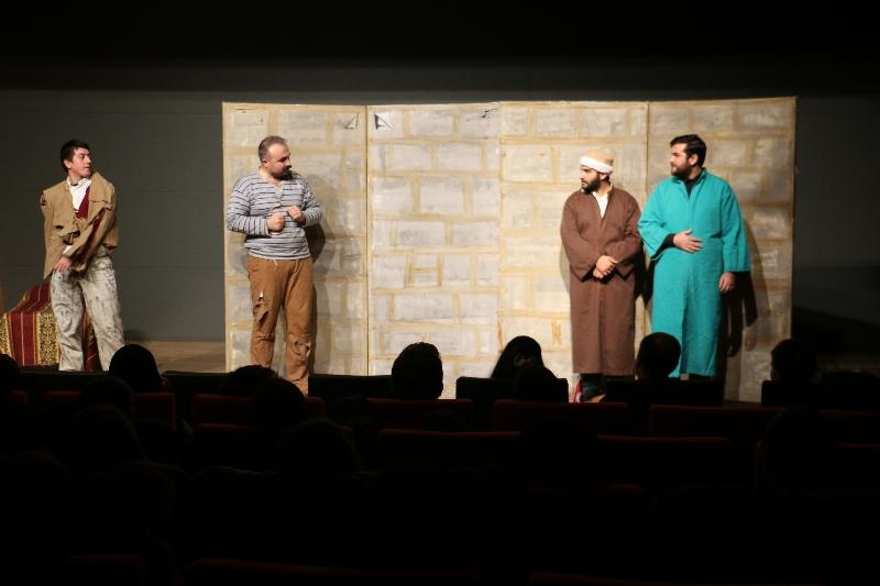 Ziyafet Sofrası Üsküdar Üniversitesinde sahnelendi. 2