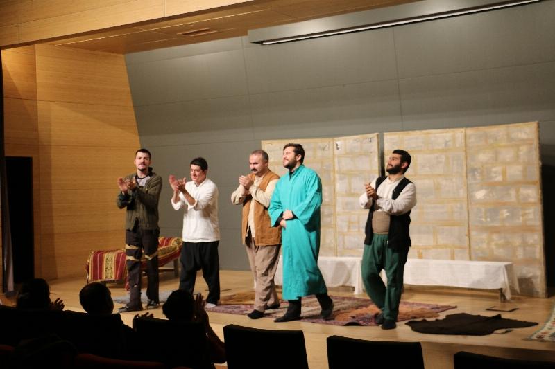 Ziyafet Sofrası Üsküdar Üniversitesinde sahnelendi.