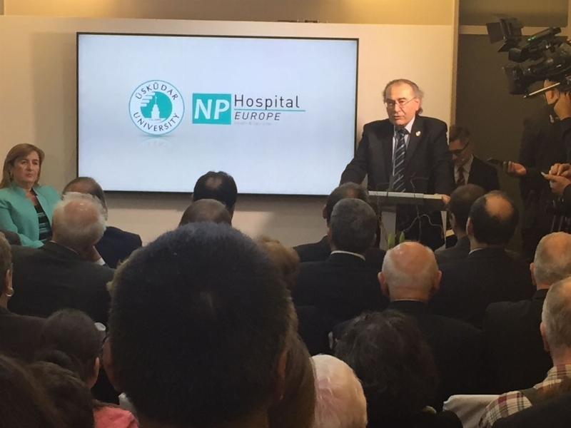 Üsküdar University NPHOSPITAL Europe görkemli bir törenle açıldı... 5