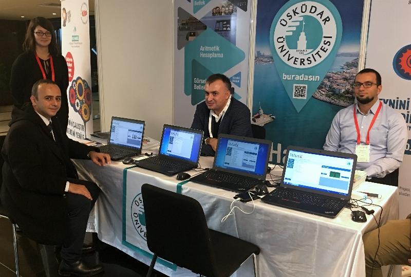 Üsküdar Üniversitesi AR-GE ve İnovasyon Zirvesi'nde takdir topladı.
