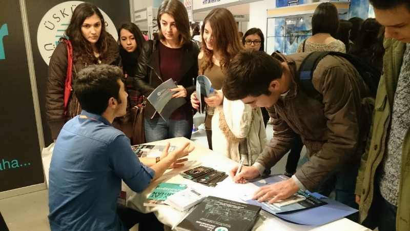 Üsküdar Üniversitesi, Kahramanmaraş'ta üniversite adaylarıyla buluşuyor.